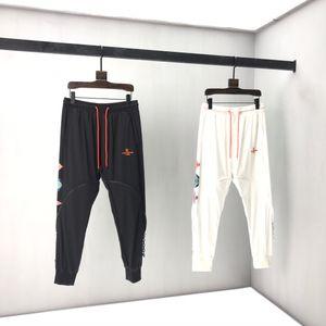 2020sa pring and summer new high grade cotton printing short sleeve round neck panel T-Shirt Size m-l-xl-xxl-xxxl Color black white V31