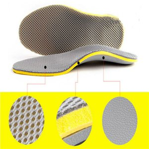 1 par Unisex Bamboo Charcoal palmilhas Homens Mulheres Orthotic Arch Apoio respirável Almofada Palmilhas Pad Insert