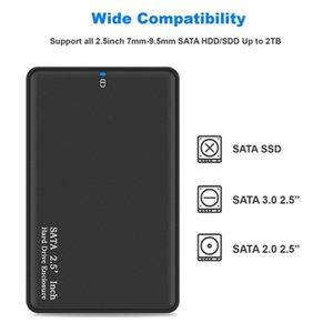 Твердотельный механический жесткий диск Box 2,5-дюймовый ноутбук Sata Последовательный порт USB3 0 Высокоскоростной мобильный жесткий диск Box