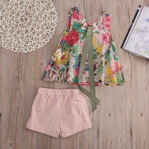 Новые дети одежда младенческой bebe девушки случайные костюмы детская одежда наборы roupas infantis menina девочка одежда