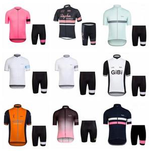 Rapha Team Cyclisme Manches Courtes Jersey Shorts Ensembles Nouveau Style De Cyclisme Vêtements Respirant Séchage Rapide Confortable 012435f