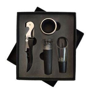 Opener di vino Set di vino Aeratore Decanter Apri da imbuto Pinnel Set con scatola Cucina Bar Strumenti HHA630