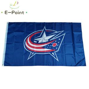 Columbus Blue Jackets флаг 3x5 футов спортивный баннер человек-пещера