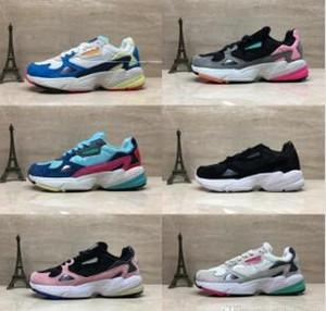2019 Falcon W Zapatos para correr para hombres, mujeres, de alta calidad, zapatos de halcón, zapatillas de deporte de diseño de lujo originales para correr al aire libre Tamaño 36-45
