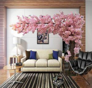 ciliegi artificiali di grande simulazione albero sakura grande albero artificiale Decorazione di cerimonia nuziale super-3 m di altezza