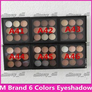 메이크업 아이 섀도우 팔레트 키트 부르고뉴 아이 섀도우 X9 매트 새틴 눈 프로 컬러 9 컴팩트 고품질 화장품 DHL 무료 배송