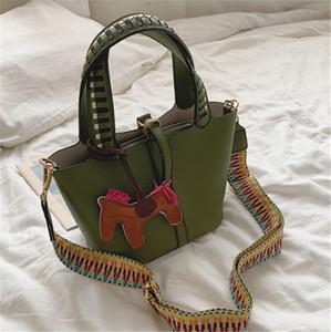 Designer portátil Bucket Bag Moda Mãe Criança Bolsas Tide ombro único Fashion4 PH-CFY2001123