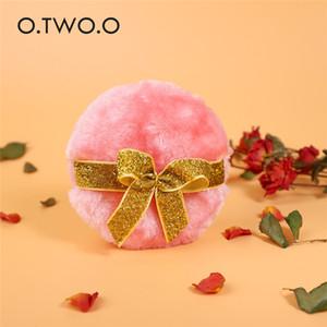 O.TWO.O Schmetterling Cosmetic weicher Plüsch Puderquaste Sponge Loose Powder Dry Cosmetic Puff-Verfassungs-Schönheit Werkzeuge