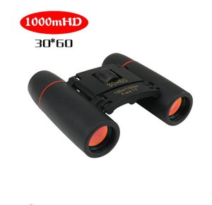 2020 in stock Telescope Folding Binoculars with Low Light Night Vision 30x60 Binoculars for outdoor bird watching travelling hunting camping