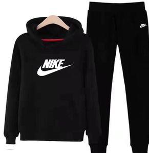 2020 Mann andWomen Sport Anzug Fleece Pullover mit Kapuze Hosen 2 zwei Stück Frauen-Set Outfit Lässige Sweat Anzüge sweatsuits Kleidung Kleidung