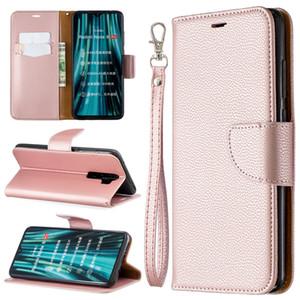 COUVERTURE Support Portefeuille pour Xiaomi redmi Note 8 / redmi Remarque 8T / redmi Note 8 Pro cas Litchi modèle cuir PU téléphone portable Case