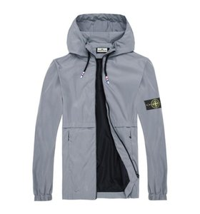NOVO Designer Mens Jacket Brasão Outono Windrunner Jackets Marca Designer Sports Windbreaker finos jaqueta casual Homens mulheres Tops Roupa