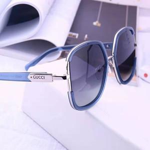 상자 럭셔리 - 높은 품질 클래식 파일럿 선글라스 명품 브랜드 남성 여성 태양 안경 안경 금속 유리 렌즈와