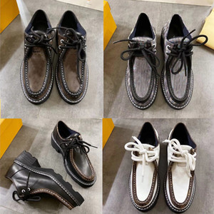 موضة 2019 جديدة حذاء فاخر Beaubourg لمنصة DERBY الرباط حتى أحذية مصمم العلامة التجارية المرأة الاحذية