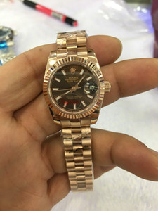 new With Original Wooden Box 116710LN women 26mm automatic mechanical diamonds watch self winding Stainless steel clock Date just wristwatch