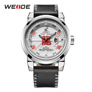 Weide herren sportuhren mode lässig quarz kalender lederarmband uhr top marke luxus armbanduhr relogio masculino y19052103