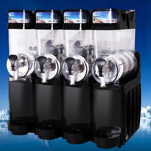Factory direct commercial large capacity four cylinder cold drink machine portable smoothie juice machine free shipping