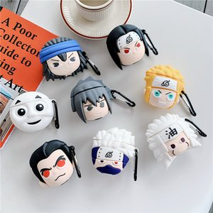 Newst 3D Cute Naruto Soft Silicone Wireless Bluetooth Case For Airpods Pro Earphone Headphones Cover For Airpods 2 3