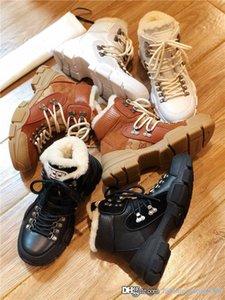 Дизайнер женщин людей FlashTrek кроссовки с мехом, теплые зимние ботильоны Пешеходные Sneaker с Tough резиновой подошвы платформы Martin обувь