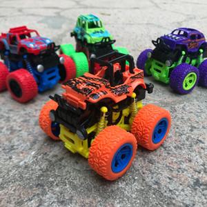 Cartoon crianças carro modelo Brinquedos, Monstro Stunt Car, quatro rodas SUV, Inertial Force, vários estilos, para Presentes Kid aniversário Festa de Natal