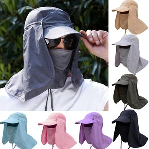 Hot Sale Fishing Hiking Bucket UV Sun Protection Cap For Outdoor Face Neck Cover Sunshade Hat