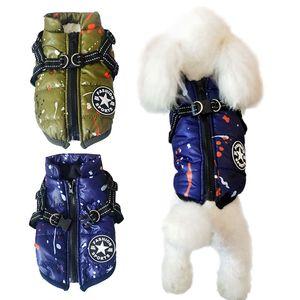 Küçük Köpekler Noel Big Dog Coat Evcil Giyim Chihuahua İçin Köpekler Kış Giyim Sıcak Köpek Giyim için Kış Pet Coat Elbise