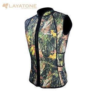 Мужские гидрокостюмы Vest / Брюки 2мм неопрена рукавов Top куртки и большой длины для Серфинг Плавание на каяках Scuba Diving Suit