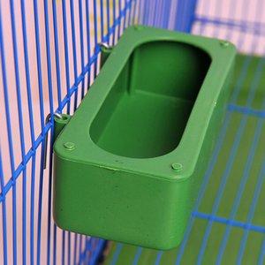 Bd Splash Kuş Asılı Getirmek Kapak Savunma Sprey Su Korumak Getirmek Hediye Kutusu Papağan Plastik Tekneli