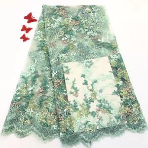 Ücretsiz Kargo! Yüksek kaliteli Gipür Dantel / Nijeryalı dantel kumaşlar / düğün RF199 için suda çözünür Afrika dantel kumaş
