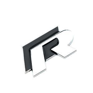 Metallo 3D Rline autoadesivi R Linea Logo Badge Emblem Sticker per Volkswagen VW Polo Golf Jetta MK5 MK6 Passat B5 B6 B7