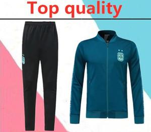 2019 Бельгия Аргентина взрослый футбол куртка спортивный костюм 2019 2020 Испания MOXICO Колумбия футбол длинные молнии куртка тренировочный костюм