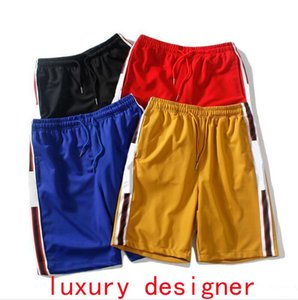 19SS Made In Italy Shorts For Men Designer Short Pants Summer LOGO Printed Casual Homme Luxury Short Sweatpants Drawstring Relaxed Clothing
