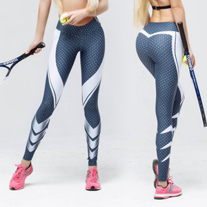 Le nuove donne Fitness Leggings Yoga esecuzione pantaloni signore Athletic Gym Sport allenamento Trainning Pant