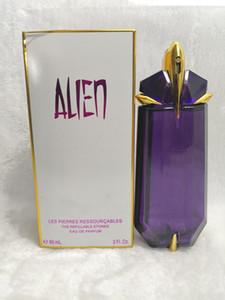Lady Womens Perfume Eau de Parfume Muchler Alien Lasting Aragrance Deodorant Хорошее качество ароматы парфоны спрей ладан 90 мл 3fl.oz Box