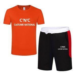 G2 Costume National 2020 Мужские Дизайнерские Спортивные Костюмы Лето Роскошные Буквы Мода Спортивная Одежда С Короткими Рукавами G2 Costume National