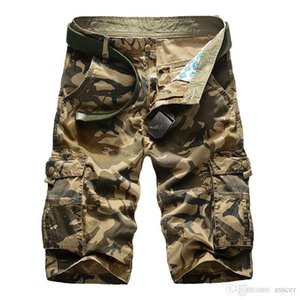 Fashion Mens Designer Shorts Military Camouflage Style Short Pants Summer Mens Slim Pants Overalls Mens Short