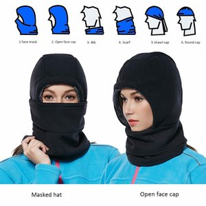 Outdoor Cycling Balaclava Winter Warm Motorcycle Helmet Liner Cap Windproof Uv Protect Skull Full Face Mask