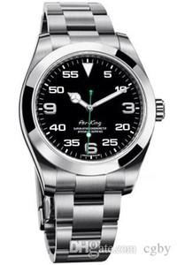 럭셔리 시계 AIRKING 시리즈 40MM 사파이어 미러 MASTER 116900 자동 기계 운동 높은 품질 316L 스테인리스 스틸 손목 시계