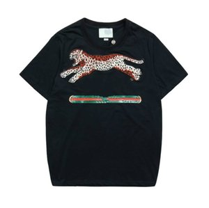 20s Summer Designer T Shirt For Men Fashion T shirts With Letters Animal G Printted Short Sleeve Mens Top Tee Clothing 2 Colors S-2XL