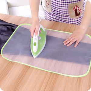 Cheap Boards Random Colors Ironing Cloth Guard Ironing Board Cover Protective Press Mesh Against Pressing Pad Protective Insulation