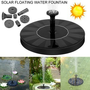Solar Powered Pompa galleggiante Fontana Birdbath casa Giardino Decor