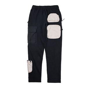 Erkek Tasarımcı Pantolon TRAVIS SCOTT çok cepli İşleme Pantolon tulumları Sweatpants Retro Moda uzun pantolon Sweatpants Günlük Pantolon