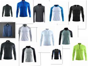 1920 neue lange Hülsen-Sport-Shirt Männer Quick Dry Männer Lauf-T-Shirts Snake Gym Bekleidung Fitness Top Mens Rashgard Fußball Jersey