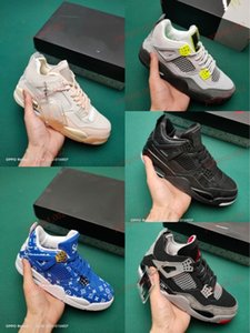 xshfbcl 2020 Bred Black Cat 4 4s Basketball Shoes Men Mens White Cement Encore Wings Fire Red Singles progettista women Sneakers IV Trainers