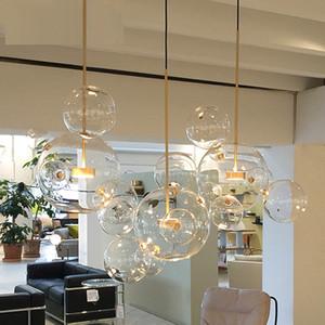 Creativo personalità postmoderno ciondolo semplicità luce salotto sfera della bolla ristorante camera da letto nordico ha portato lampada a sospensione