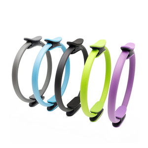Pilates Ring Йога Magic Circle Высокое качество тренировки упражнения фитнес оборудование талии Назад Arm ног Обучение Supplies 5 Цвет