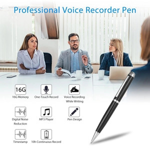 SK-025 المهنية البسيطة صوت مسجل صوت مسجل القلم 16GB نمط القلم الرقمي المحمولة USB البسيطة الصغيرة القرص تسجيل الصوت القلم