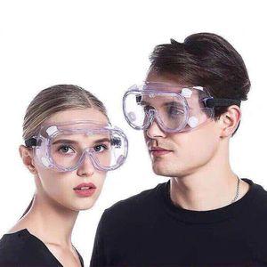 New totalmente fechados PC Limpar Lens óculos de segurança à prova de respingos exterior Anti-Sneeze Líquido Esporte Goggle Motobike Ciclismo Goggle Óculos