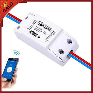 Sonoff Basic Wireless WiFi Switch ل Smart Home Automation Relay Module وحدة التحكم عن بعد IOS Android مع دليل المستخدم