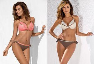 топ девушка дамы женщины бикини устанавливает купальники с высокой талией три части купальники купальный костюм плавание плавать носить сексуальные гибкие стильные купальники